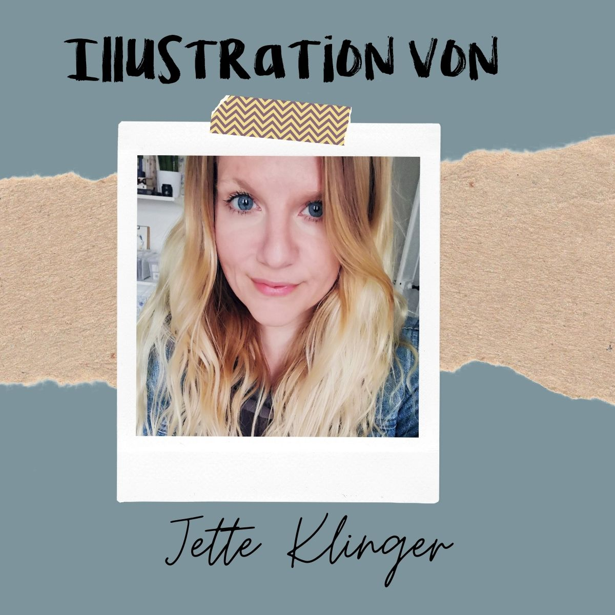 Illustratorin einer Wachsenden Kunst Karte Jette