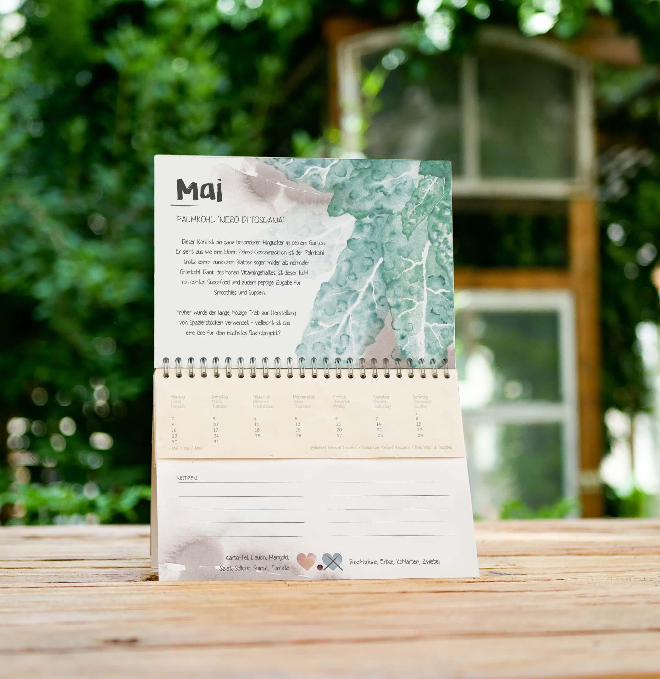 Wachsender Kalender Vergessene Sorten Mai